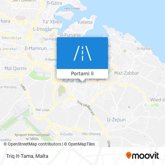 Mappa Triq It-Tama