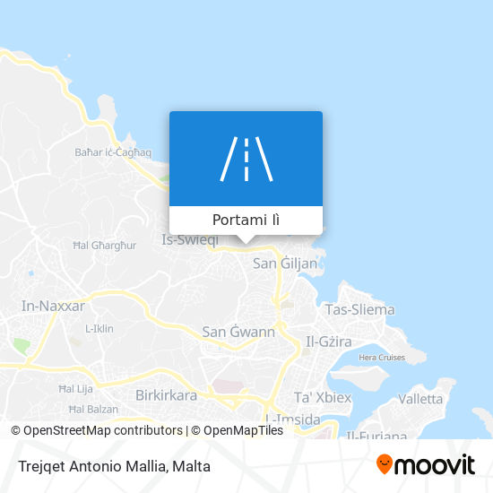Mappa Trejqet Antonio Mallia