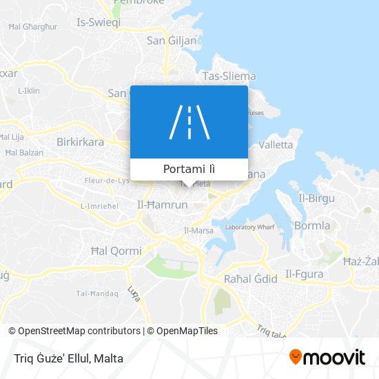 Mappa Triq Ġuże' Ellul