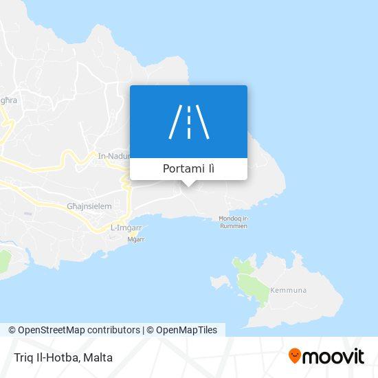 Mappa Triq Il-Hotba