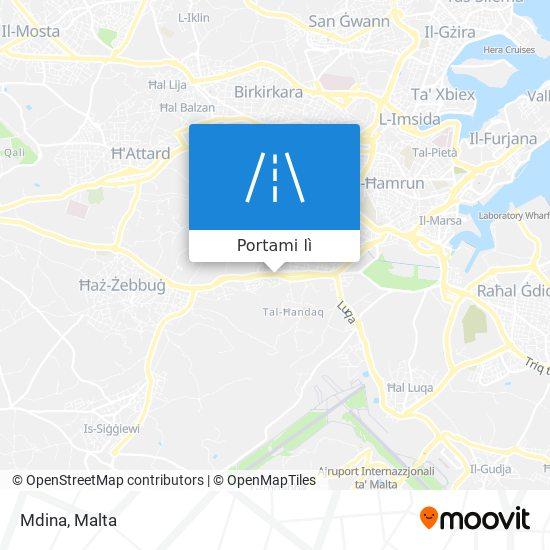 Mappa Mdina