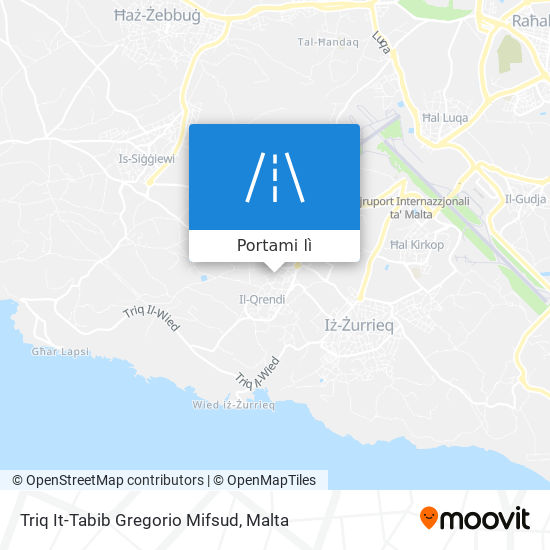 Mappa Triq It-Tabib Gregorio Mifsud