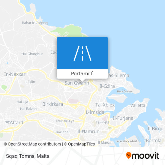 Mappa Sqaq Tomna
