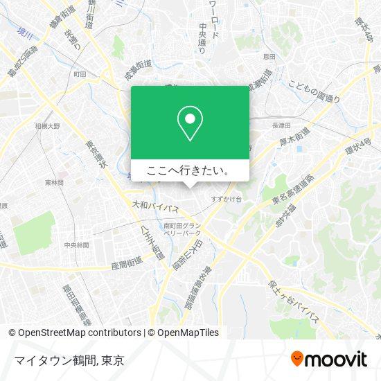 マイタウン鶴間地図