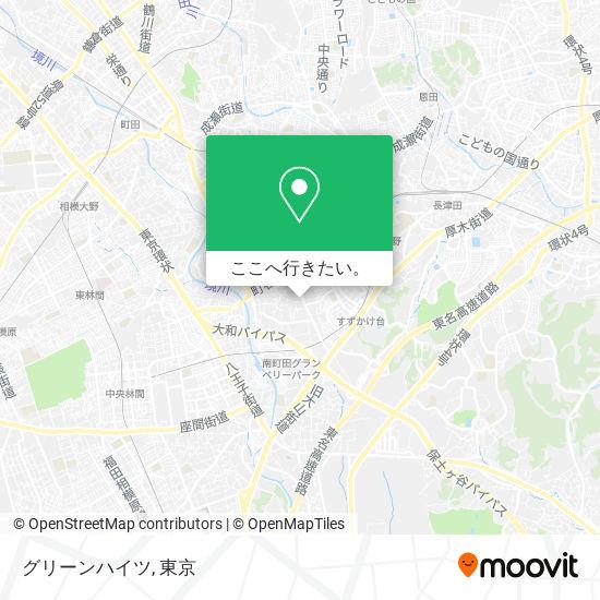 グリーンハイツ地図
