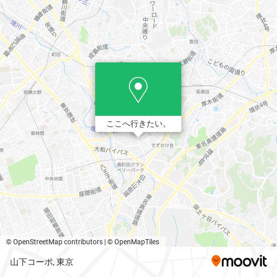 山下コーポ地図