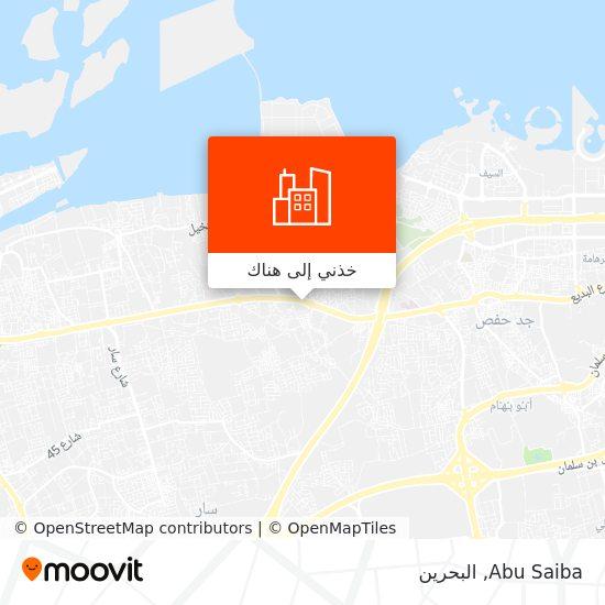 خريطة Abu Saiba
