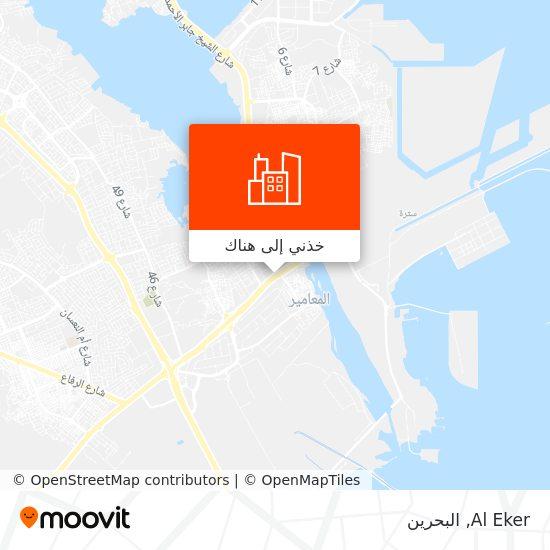 خريطة Al Eker