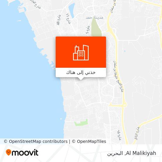 خريطة Al Malikiyah