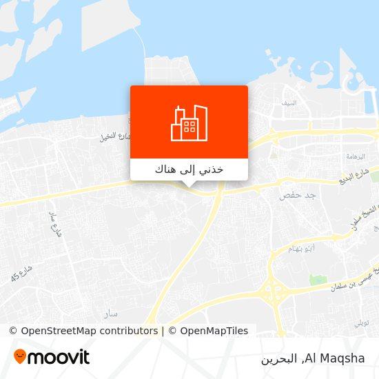 خريطة Al Maqsha