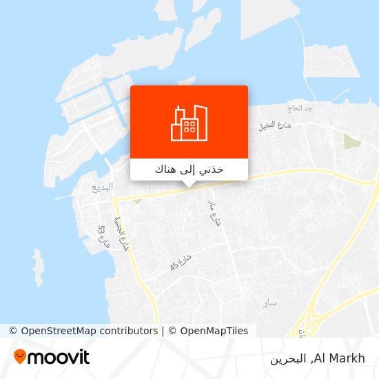 خريطة Al Markh