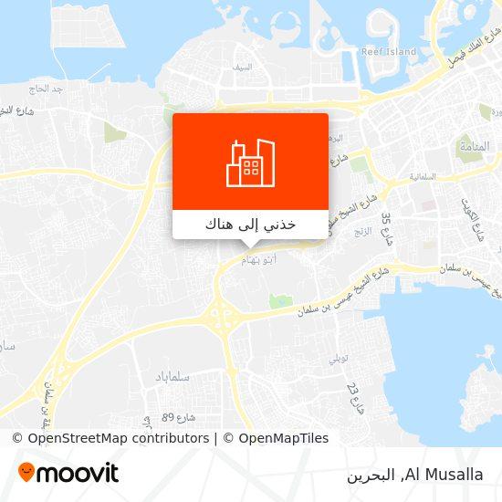 خريطة Al Musalla