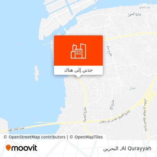 خريطة Al Qurayyah