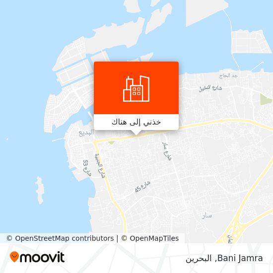 خريطة Bani Jamra