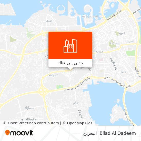 خريطة Bilad Al Qadeem