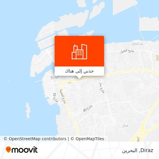 خريطة Diraz