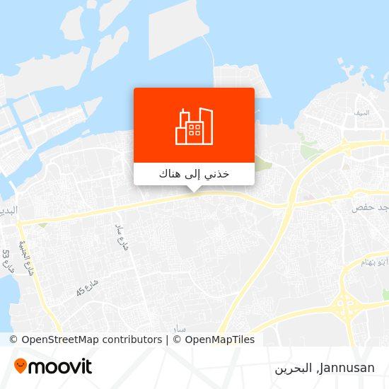 خريطة Jannusan