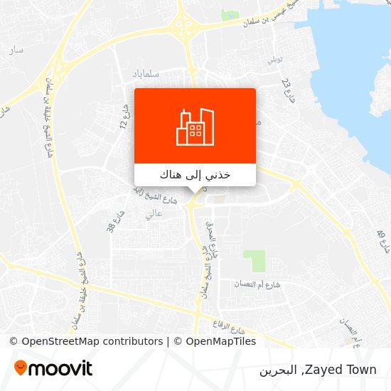 خريطة Zayed Town