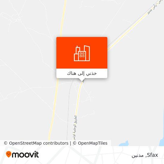 خريطة Sfax