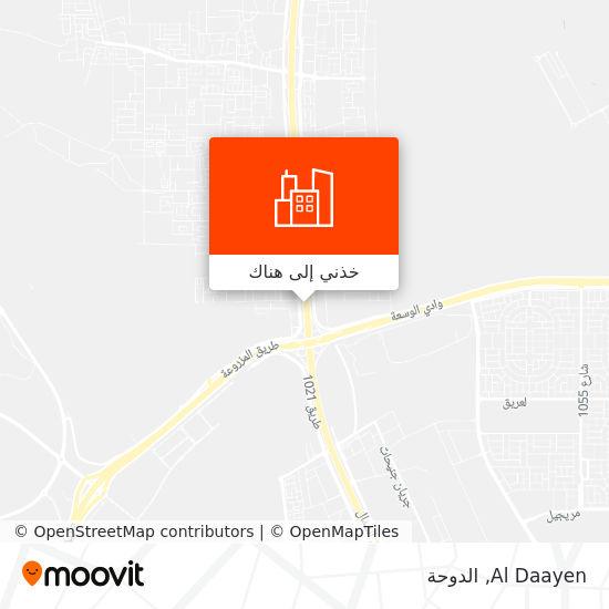 خريطة Al Daayen