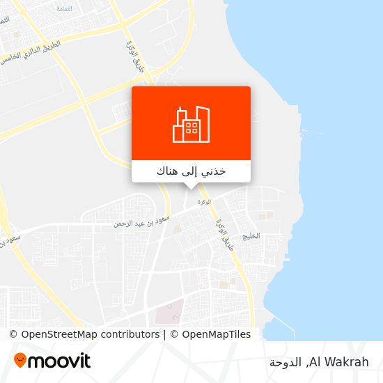 خريطة Al Wakrah