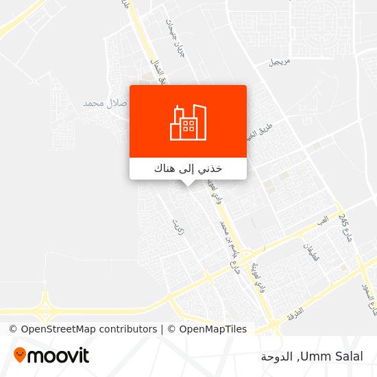 خريطة Umm Salal