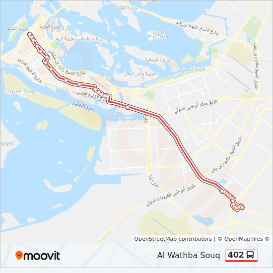 402 Route: Time Schedules, Stops & Maps - Al Wathba Souq