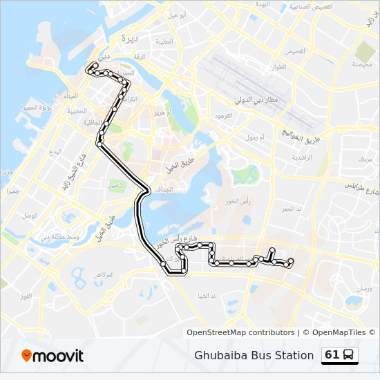 61 Route Time Schedules Stops Maps