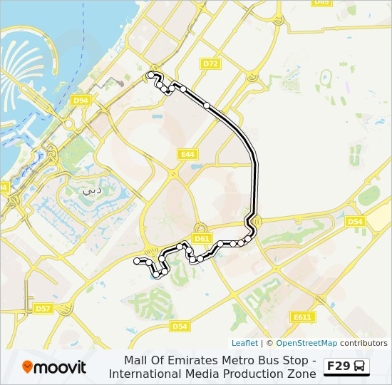 F29 Route Time Schedules Stops Amp Maps International