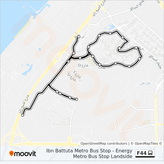 F44 Route: Time Schedules, Stops & Maps - Energy Metro Bus