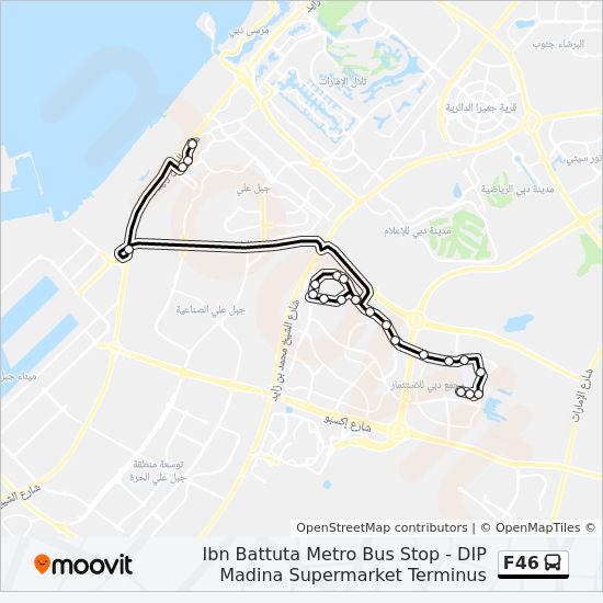 F46 Route Time Schedules Stops Amp Maps Ibn Battuta