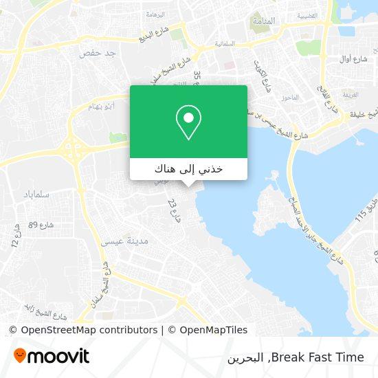 خريطة Break Fast Time