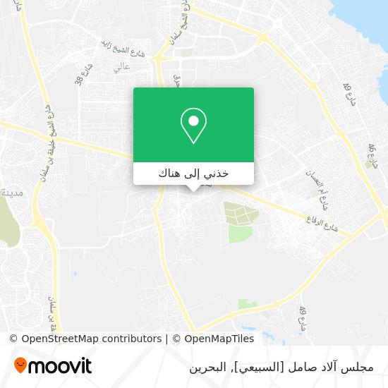 خريطة مجلس آلاد صامل [السبيعي]