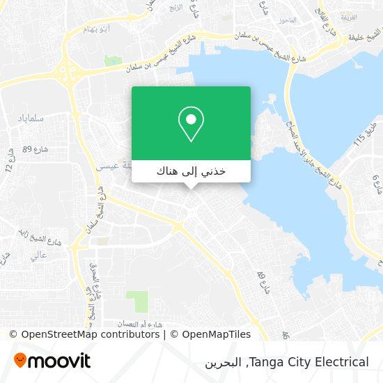 خريطة Tanga City Electrical
