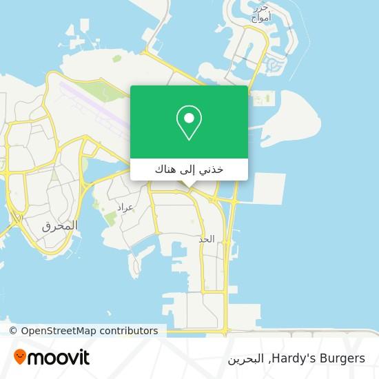 خريطة Hardy's Burgers