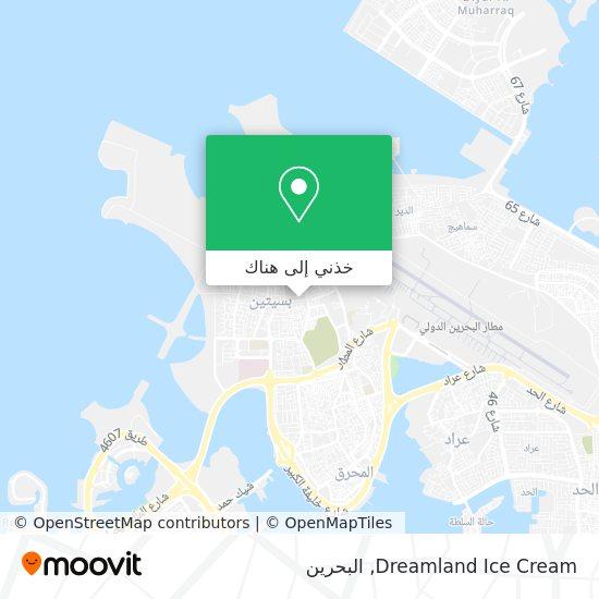 خريطة Dreamland Ice Cream