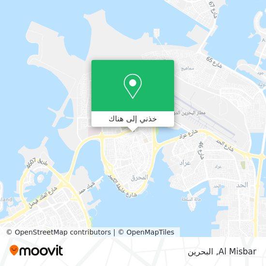 خريطة Al Misbar