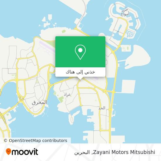 خريطة Zayani Motors Mitsubishi