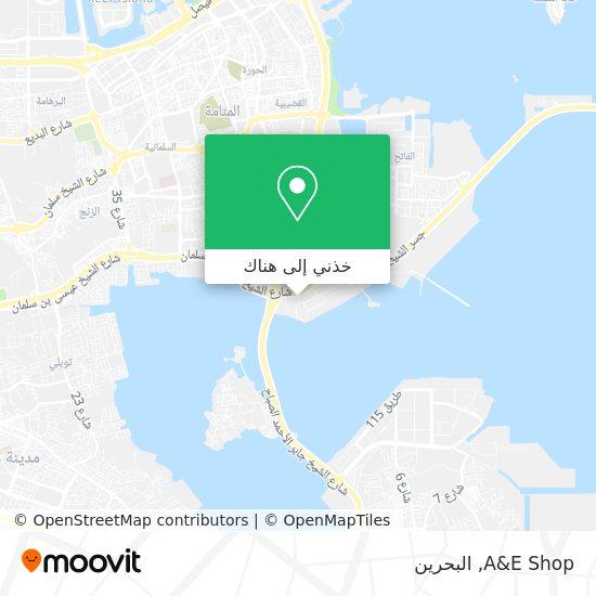 خريطة A&E Shop
