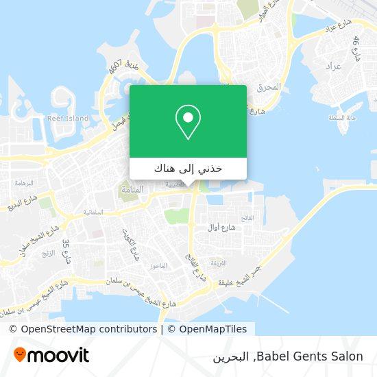 خريطة Babel Gents Salon