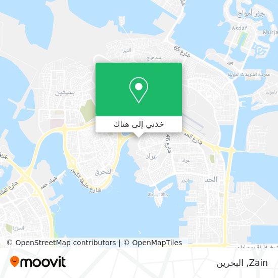 خريطة Zain