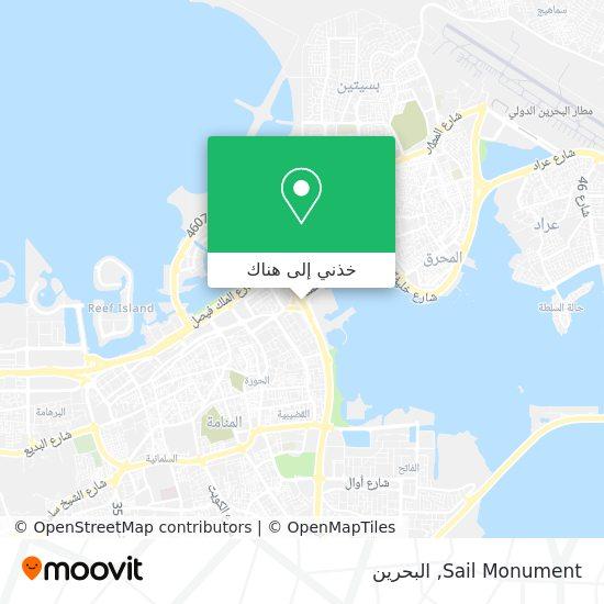 خريطة Sail Monument