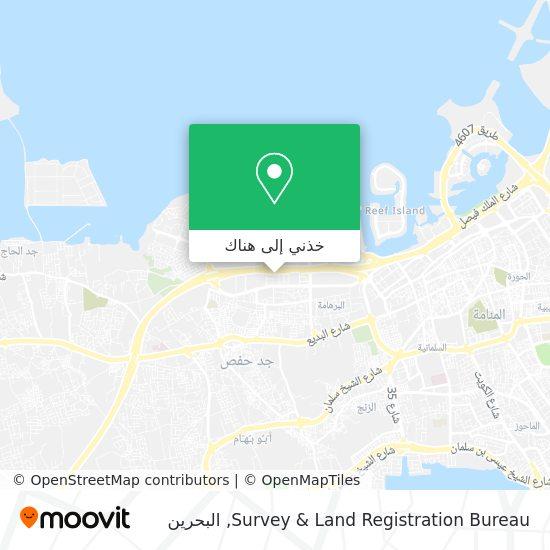 خريطة Survey & Land Registration Bureau