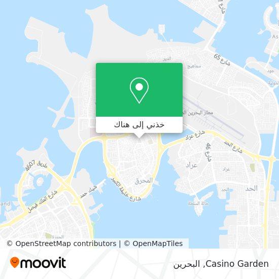 خريطة Casino Garden