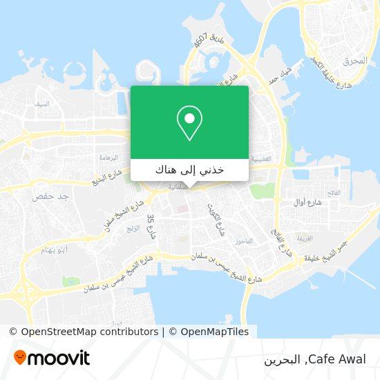 خريطة Cafe Awal
