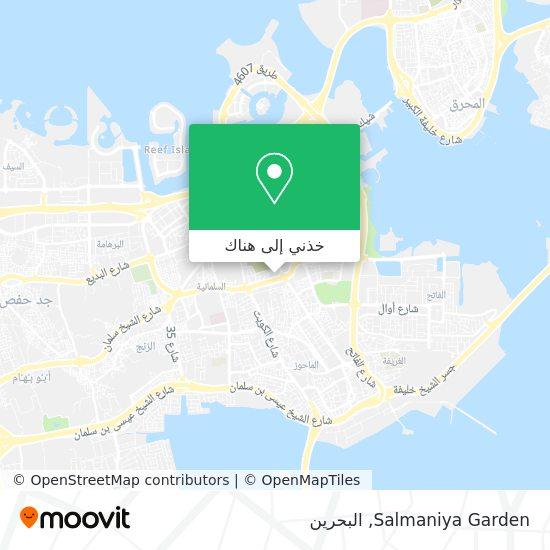 خريطة Salmaniya Garden