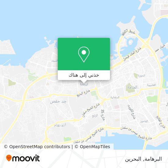 خريطة Al-Burhama