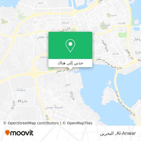 خريطة Al-Anwar