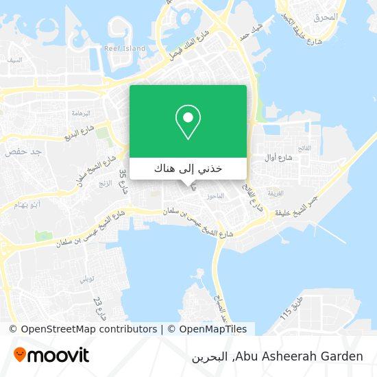 خريطة Abu Asheerah Garden