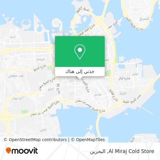 خريطة Al Miraj Cold Store